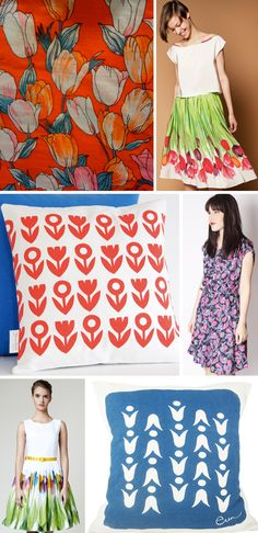 Street Patterns: Tulips