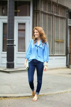 Outfit {Annie Griffin Blouse}