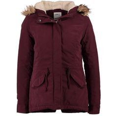 ONLY LUCCA Winter jacket winetasting (£27) ❤ liked on Polyvore