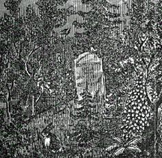 The Legend of the Bell Witch of Tennessee - by Pat Fitzhugh, Author / Historian. John Bell's funeral was one of the largest ever held in Robertson County, Tennessee.  As family and friends began leaving the graveyard, the entity laughed loudly and began singing a song about a bottle of brandy.  It is said that her singing didn't stop until the very last person left the graveyard.  The entity's presence was almost nonexistent after John Bell's demise, as if its purpose had been fulfilled.