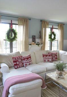 Great Weiß Ektorp Sofa Für Ein Großes Wohnzimmer