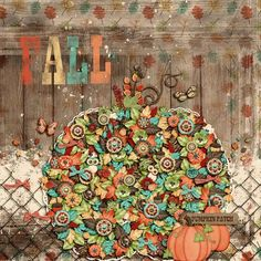 GingerScraps :: Bundled Goodies :: Fall Into Fall Digital Scrapbooking Collection