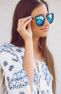 Quay Australia - My Girl Sunglasses - Black | Accessories & Beauty | Back In Stock | Peppermayo
