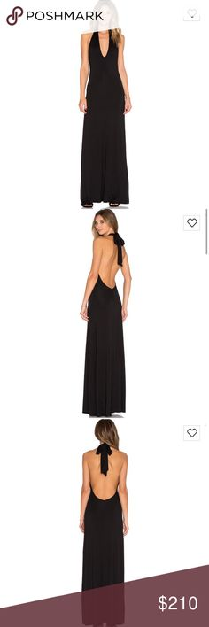 Rachel Pally black maxi dress I bought this from Revolve and was going to wear it to prom, but ended up going with a different dress!! It's really cute and could be dressed up or down. Super cute and would keep it if I had anywhere to wear it!! Still has tags and everything. Rachel Pally Dresses Maxi