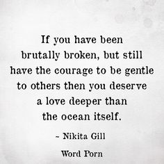 Nikita Gill quote | Word Porn