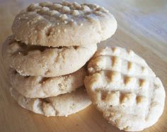 These are the quickest, simplest peanut butter cookies that you will ever make and they taste great!