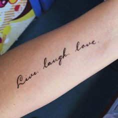 88 Stylish Tattoo Quotes ideas for Women Trending Right Now - Wörter Tattoos, Love Tattoos, Unique Tattoos, Small Tattoos, Tattoos For Women, Tattoos For Guys, Girl Tattoos, Awesome Tattoos, Tatoos