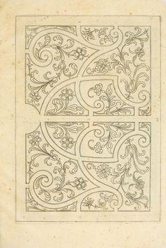 1630 - Livre de differants desseings de parterres - By Rabel, Daniel