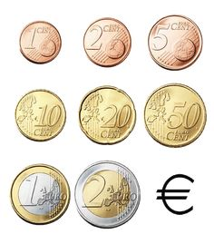 euro - 4nix.nl Math For Kids, Craft Activities For Kids, Kindergarten Math, Teaching Math, Paper Lantern Making, Old Coins Value, Learn Dutch, Community Workers, Euro Coins