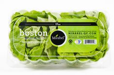 Notre laitue Boston sans racine, emballée en paquet de deux.  Our Butter lettuce, packaged without its roots in a duo pack. Boston, Snack Recipes, Snacks, Lettuce, Cabbage, Chips, Packaging, Vegetables, Food