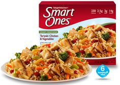Weight Watchers® Smart Ones® Teriyaki Chicken & Vegetables