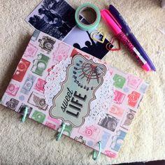 Journal scrapbook por Yamili daynai