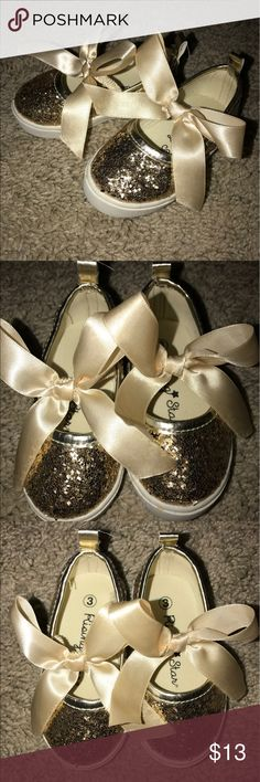 9d01274dd8eb Shop Kids  Gold White size Dress Shoes at a discounted price at Poshmark.