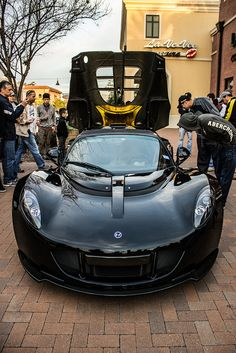 Hennessey Venom GT... grinning!