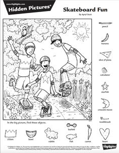 (2017-06) Find 14 detaljer Hidden Object Puzzles, Hidden Picture Puzzles, Hidden Objects, Printable Activities For Kids, Worksheets For Kids, Preschool Activities, Hidden Pictures Printables, Art Books For Kids, Picture Search
