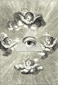 eye of providence ::: whenever you see an eye above an image there is a link to paganism and a deeper route to luciferianism with the image