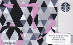 Starbucks Korea Korea Starbucks Card_Hangul_Hangul typography_Original envelope