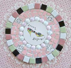 OOH LA LA Paris L'amour Toujours  Shoe Mosaic Tile Set Arrangement. $23.99, via Etsy.