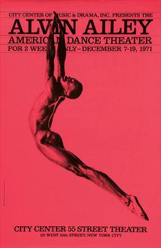 Bea Feitler, graphic design for The Alvin Alley American Dance Theater, 1973. Bea Feitler, foi uma designer e diretora de arte brasileira.