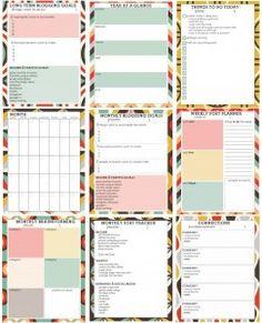 Free Printable Blog Planner – Living Well Spending Less™
