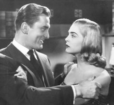 Lizabeth Scott and Kirk Douglas