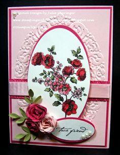 True Friend- Monochromatic Pinks -  Julie Gearinger