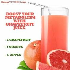 Smoothie Recipes natural metabolism booster grapefruit juice recipe - Looking for a Natural Metabolism Booster? Try Fresh Juices! Healthy Juice Recipes, Juicer Recipes, Cleanse Recipes, Healthy Juices, Healthy Smoothies, Healthy Drinks, Healthy Food, Drink Recipes, Fresh Juice Recipes