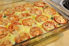 low carb spinach & sausage casserole 6 carbs a serving