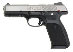Ruger SR45 .45acp stainless $429.95   Loading that magazine is a pain! Get your Magazine speedloader today! http://www.amazon.com/shops/raeind