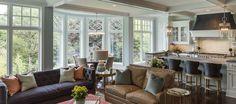 Hilltop Custom Build_Interiors_Family Room_Eating Space_Kitchen_Stonewood LLC Custom Home Builder