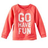 Floral letters and an inspiring message are the perfect pair to make this pullover her favorite.