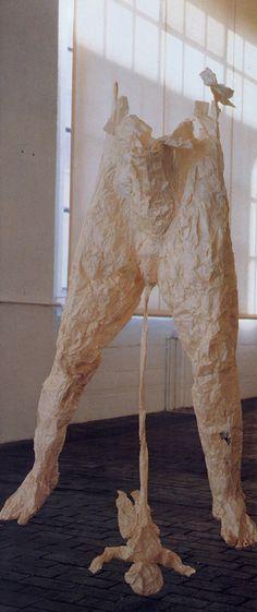 Kiki Smith | Untitled | 1989 Kiki Smith, Organic Art, Paper Artwork, Feminist Art, Land Art, Textiles, Installation Art, Contemporary Artists, Art Pictures