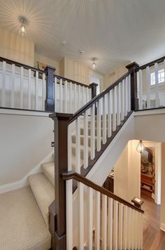 Best Grey And White Hand Rail Stairs Staircases Pinterest 640 x 480