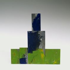 Onno Boekhoudt ~ gold, silver, lead and painted brooch