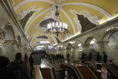 Rede moscovita tem 196 estações, em doze linhas  (Foto: BBC)