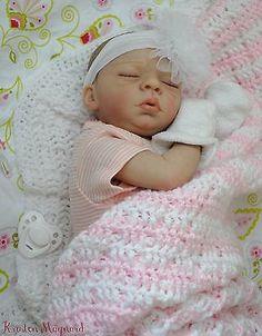 Stunning Limited Edition Reborn Newborn Baby Girl Owen by Laura Tuzio Ross