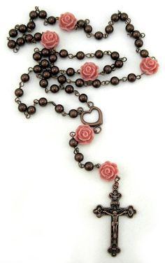 Desert rose rosary