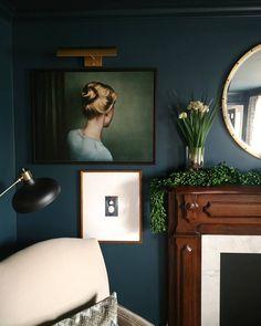 Idah © Billy & Hells Beautiful Interiors, Gallery Wall, Cottage, Living Room, Portrait, Artwork, Artist, Pictures, Instagram