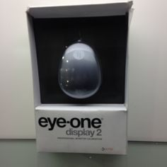 Xrite Eye-One Display 2 The Xrite Eye-One Display 2 is an, easy-to-use, powerful solution that provides the best monitor profile quality ever!  RRP: €133 Our Price: €78