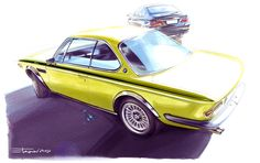 Automotive Illustrations on Behance