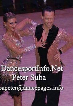 Pasha Pashkov & Daniella Karagach | Blackpool Dance Festival 2014 [matching shirt, stoned nude with black bib]