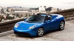 BlueTeslaPressShot - Electric car of my dreams