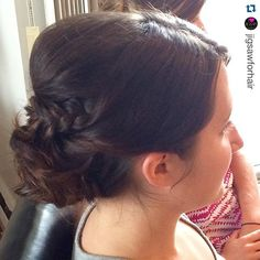 """#bridesmaid #updo by #stylesandthecity #yegstylist @_soulace_ #jigsawforhair #bridesmaidhair #updo #weddinghair"" Photo taken by @stylesandthecitybytawsha on Instagram, pinned via the InstaPin iOS App! http://www.instapinapp.com (07/25/2015)"