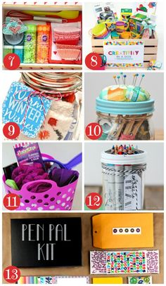 More Christmas Gift Baskets for Kids and Teens                                                                                                                                                                                 More