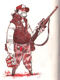Considering doing a style like this for my comic art (colour)