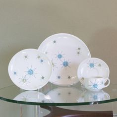 Starburst Place Setting, $80, now featured on Fab.