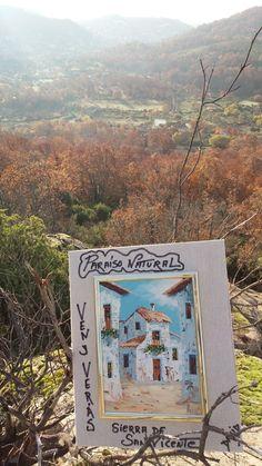 Acuarelas Sierra San Vicente (Toledo) (1)