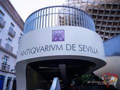 The entrance to Metropol Parasol. Sevilla, Andalucía, España.