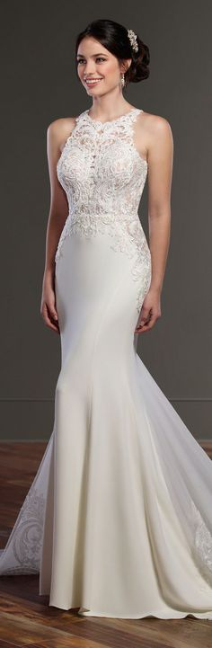 Wedding Dress by Martina Liana Spring 2017 Bridal Collection