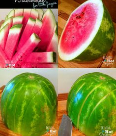 How to Cut Watermelon for Little Fingers   www.FabArtDIY.com LIKE Us on Facebook ==> https://www.facebook.com/FabArtDIY